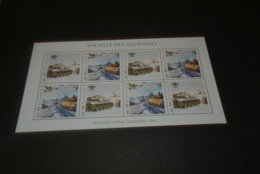 M7281- Personalised Bloc  MNH Dominca 2010 - WW II Bataille Des Ardennes - WO2