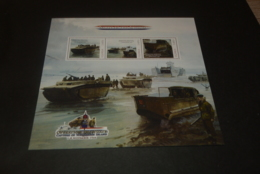GR623A- Personalised Bloc  MNH - Uganda -2010 - Battle Of The SCheldt - Non-normalised Shipment - WO2