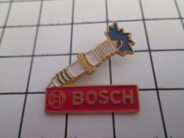619  PINS PIN'S / Beau Et Rare : Thème AUTOMOBILES / BOUGIES POUR MOTEURS BOSCH - Pins