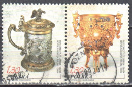Poland 2006 - Silver And Gold Objects - Mi 4248-49 - Used Gestempelt - 1944-.... Republik