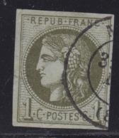 FRANCE - CLASSIQUES : N° 39C.  Réparé. - 1870 Bordeaux Printing