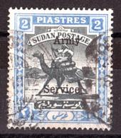 Soudan - 1905 - Timbre De Service N° 20 (filigrane B) - Méhariste-postier - Soudan (...-1951)