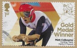 GROSSBRITANNIEN GRANDE BRETAGNE GB 2012 CYCLING: TRACK MEN'S C1 PURSUIT- PARALYMPICS 1ST SG 3374 MI 3329 YT 3722 SC 3079 - Usati