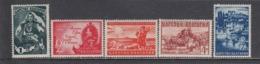 Bulgaria 1941 - Annexion De La Macedonie, YT 390/94, MNH** - 1909-45 Kingdom