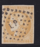 FRANCE - CLASSIQUES : N° 43A.  Cote 80€. TB. - 1870 Bordeaux Printing