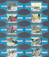 10 Sigarenbandjes Murillo Superman En Batman (1) - Bauchbinden (Zigarrenringe)