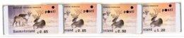 2003 Finland ATM Michel 40, Scarce Amiel Sima-printing 4 Different  **. - Viñetas De Franqueo (ATM/Frama)
