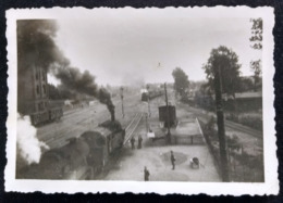 PSKOV, PLESKAU, PSKÓW (Псков), Ca 1941, Railway Station, Bahnhof, La Gare - Guerre, Militaire