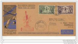 Special Envelope For The  Battle Of Bastogne  (Superbe Pli 1946 De Bruxelles - Washington    RARE - 1939-45