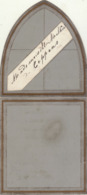 Menu Vers 1870 Pour Mathieu De Coppens - Menus