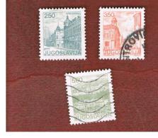JUGOSLAVIA (YUGOSLAVIA)   - SG 1664.1667   -    1981  TOURISM          -  USED - 1945-1992 Repubblica Socialista Federale Di Jugoslavia
