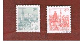 JUGOSLAVIA (YUGOSLAVIA)   - SG 1665.1675a   -    1982  TOURISM          -  USED - 1945-1992 Repubblica Socialista Federale Di Jugoslavia