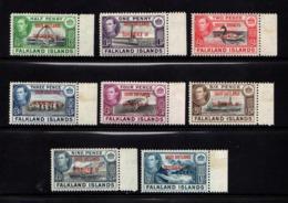 FALKLAND  ISLANDS  SOUTH  SHETLANDS    1944    Various  Designs  Set  Of  8   MNH - Falkland Islands