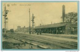 """Landen """" Intérieur Gare /  Statie """" Feldpost -Brussel Nord 191?  In Goede Staat - Bon état - Landen"""