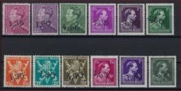 BELGIQUE BELGIUM COB 724 X / W MNH ** (nr. 724FF Met Gomfoutje) En Allen In Zéér Goede Staat Met KEURMERK / SIGNE ! - 1946 -10%