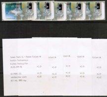 1997 Finland ATM Michel 30 Flying Squirrel Set  ** With Receipts. - Viñetas De Franqueo (ATM/Frama)