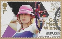 GROSSBRITANNIEN GRANDE BRETAGNE GB 2012 PARALYMPICS: WOMEN'S INDIVIDUAL COMPOUND, OPEN 1ST SG 3390 MI 3345 YT 3738 SC 30 - 1952-.... (Elizabeth II)