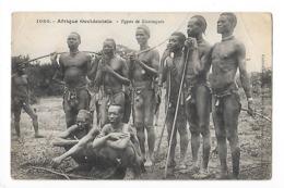 Afrique Occidentale  ( CPA )  Types De Koniaguis  -   L 1 - Other