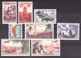 Comores - Lot De Timbres Neufs * - Cote 80 - Neufs