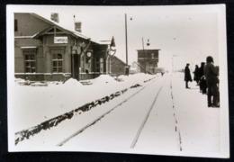 DIVENSKIY (Дивенский) GATCHINA LUGA Ca 1941 , Railway Station, Bahnhof, La Gare - Guerre, Militaire