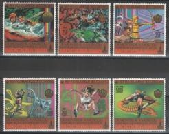 Comores - YT 308-312 + PA 172 ** MNH - 1979 - Jeux Olympiques De Moscou 1980 - Isole Comore (1975-...)