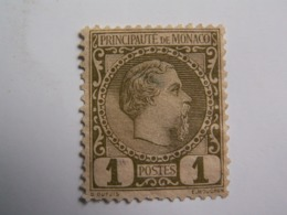 TP MONACO  1883 / CHARLES  III  -  1 C. Neuf - - Monaco