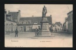 EKEREN EECKEREN LA STATUE LEOPOLD II - Belgique