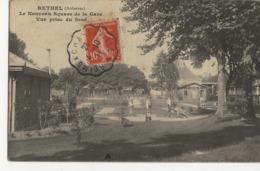 RETHEL  -  Le Nouveau Square De La Gare  -  Vue Prise Du Fond  - - Rethel