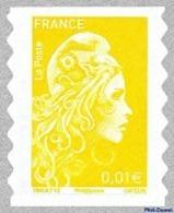 Type Marianne D'ZY N° 1594-1595-1596-1597-1598-1599-1600 - Adhésifs (autocollants)