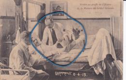 "PK GRAMMONT (Geraardsbergen)  11-04-15 (1915) ""Vendu Au Profit De L'Oeuvre De La Maison Du Soldat Invalide"" - Geraardsbergen"