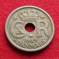 Denmark 25 Ore 1929 KM# 823.2 *V2 Dinamarca Danemark Denemarken Danimarca - Denemarken