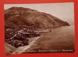 Cartolina Maratea - Scogliera - Litoranea E Panorama Di Acquafredda - 1947 - Potenza
