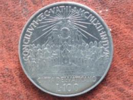 UNC VATICAN   - 100 LIRE 1962 - JOHANNES XXIII - Vatican
