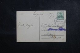 ALLEMAGNE - Oblitération Ambulant Sur Carte Postale Pour La Belgique En 1911 - L 45918 - Germany
