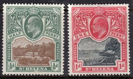 St Helena 1912-16 2 1/2d SG76 - Mint Previously Hinged - Saint Helena Island