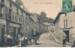 54) BRIEY : Rue De Lantéfontaine (animée !!) - 1909 - Comptoirs Français - Briey
