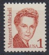 USA 1986 Margaret Mitchell 1v ** Mnh (45087) - Ongebruikt