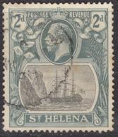 St Helena 1922 2d SG100 - Fine Used - Saint Helena Island