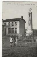 EUVEZIN  -  Ecole Communale Et Monument Aux Morts  - Place Du Château  - - Autres Communes