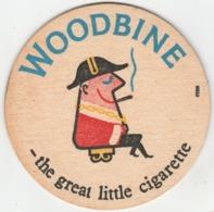 UNUSED BEERMAT - WOODBINE - THE GREAT LITTLE CIGARETTE - Bierviltjes