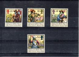Inglaterra Nº 1624-27 Uniformes Militares, Serie Completa En Nuevo 6,50 € - Militares