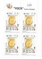 34395. Hojita 4 Viñetas 74 VOLTA Ciclista Catalunya 1994. Dentada ** - Errors & Oddities