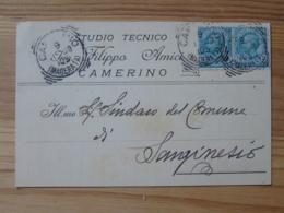 Mc1127)  Studio Tecnico Filippo Amici - Camerino - Macerata