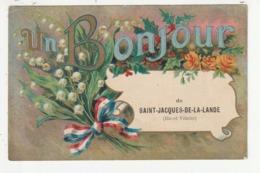 UN BONJOUR DE SAINT JACQUES DE LA LANDE - 35 - France