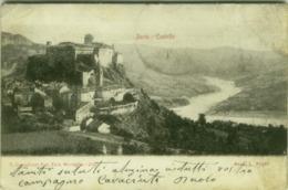 BARDI ( PARMA ) CASTELLO - EDIZIONE CIVICCHIONI - EDIT. MONEGLIA - 1904 ( 361 ) - Macerata