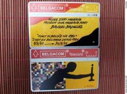 2 Phonecards  S 54+S 55 Art  301 H+322 B Used - Belgique