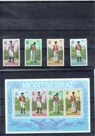 Montserrat Nº 394-97 + H.B. 17, Serie Completa En Nuevo 8 € - Militares