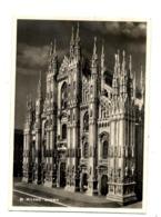 Carte Cathedrale Milan Flamme  Sur Dieu Arbre - Italia