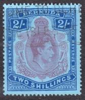 Bermuda 1938 2/- SG116 - Fine Used - Bermuda