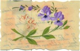 Sint-Elooi  -  St-Eloi  -  2 Cartes Op Perkament - 2 Cartes Sur Parchemin - Autres